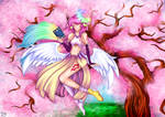 Jibril and sakura tree -|Spring ngnl contest|entry by ChiyoKyokane
