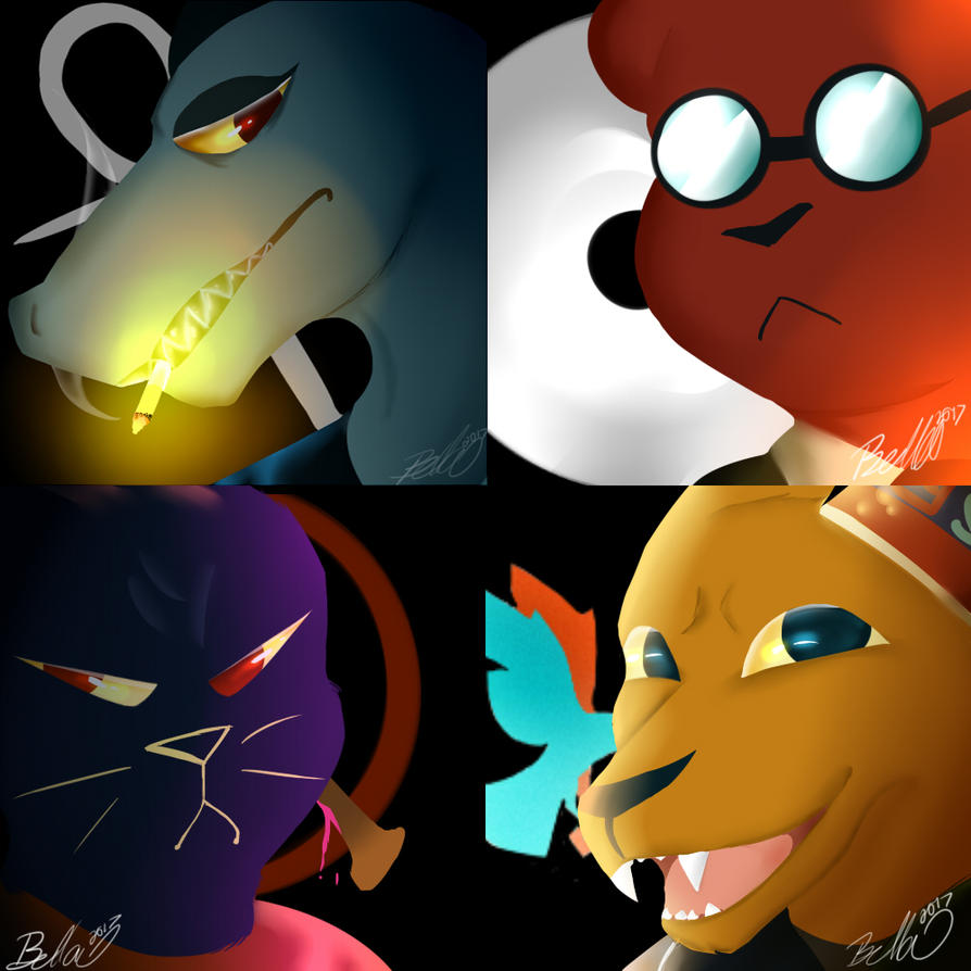 {free To Use} Night In The Woods Icons By Sadisticsumatran