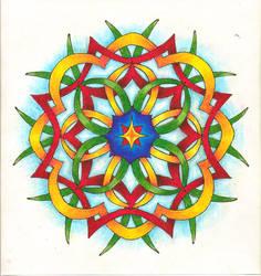Pencil Mandala by Teschke