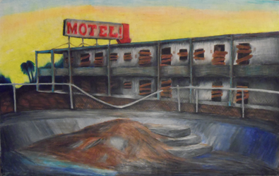 Salton Motel by Teschke