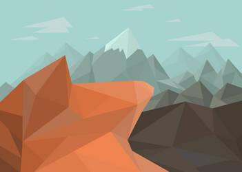 Poly Peak Background by Teschke
