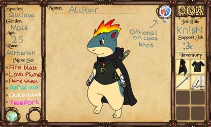 PoA: Alistair