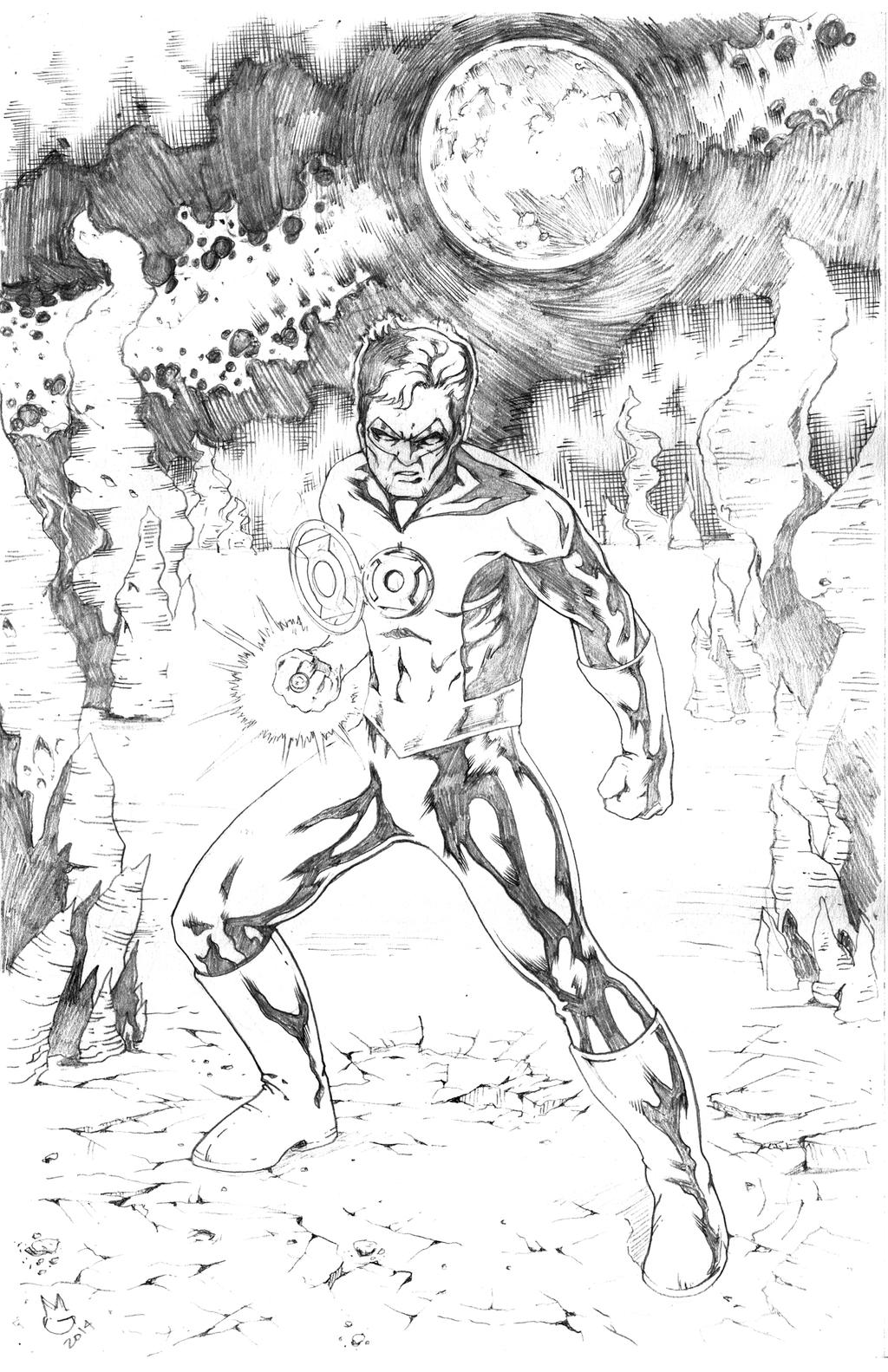 Green Lantern by Mykemanila