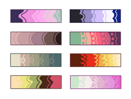 More F2U Color Palettes by Conspivacy