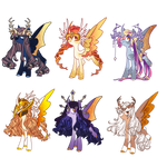 Princess Redesign Adopts *1/6 OPEN* by Conspivacy