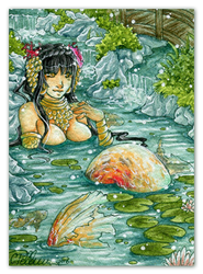 Pond beauty by Peach-Coke