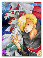 You are challenged by Pokemon Trainer Gladion! by Peach-Coke