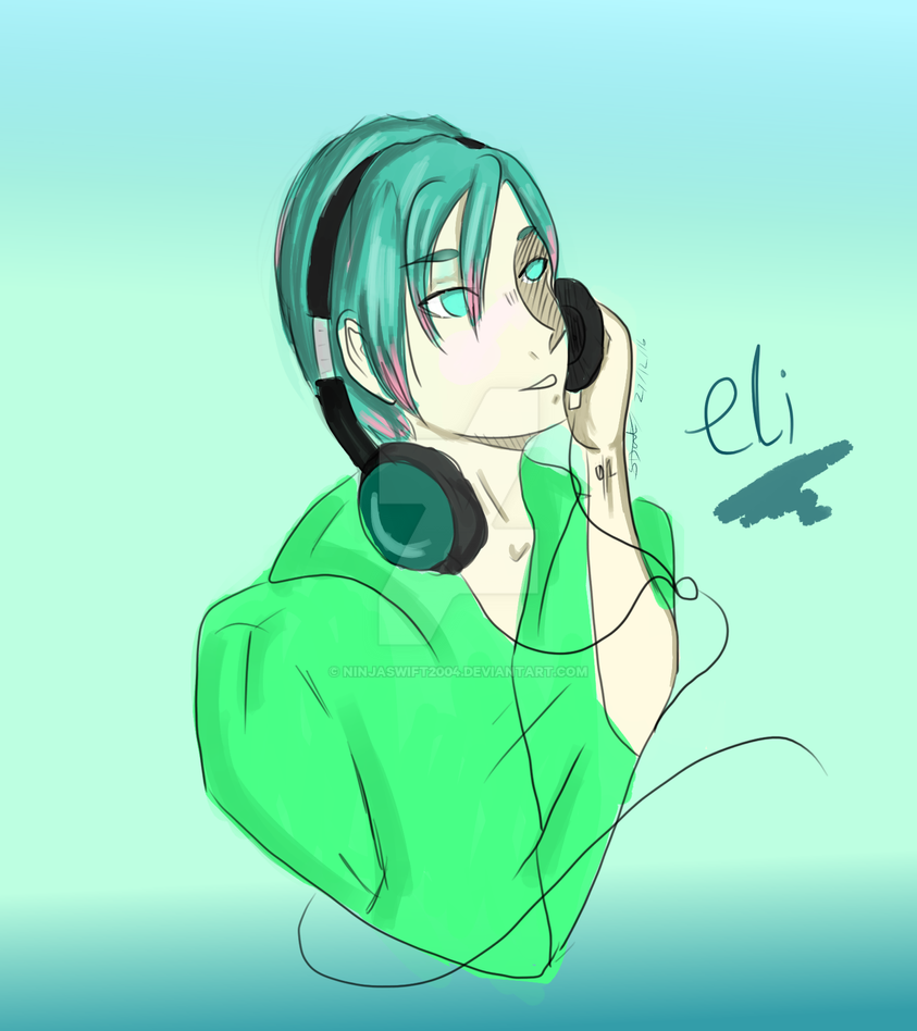 Eli (my oc) by ninjaswift2004