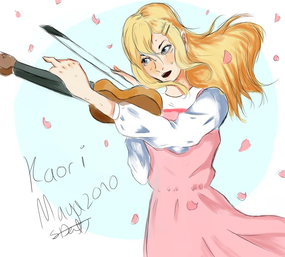 Kaori Mayazono by ninjaswift2004