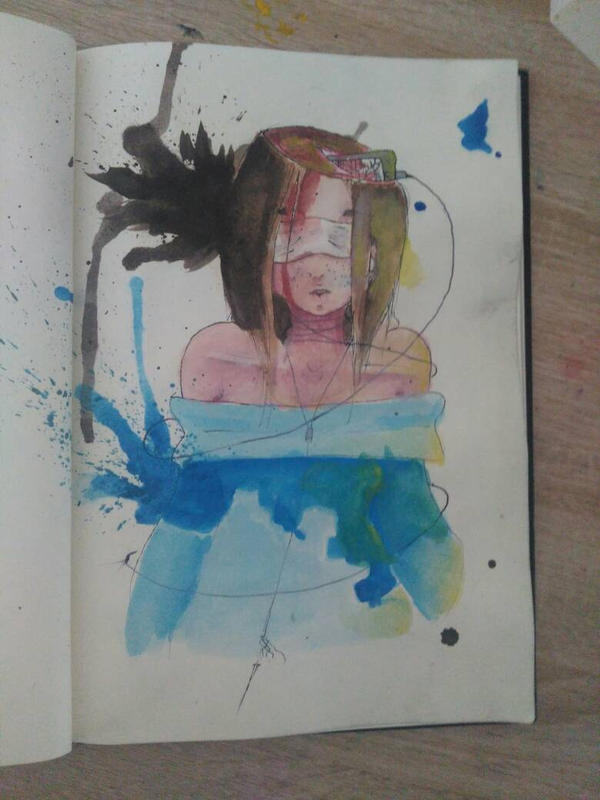 self portrait by ninjaswift2004