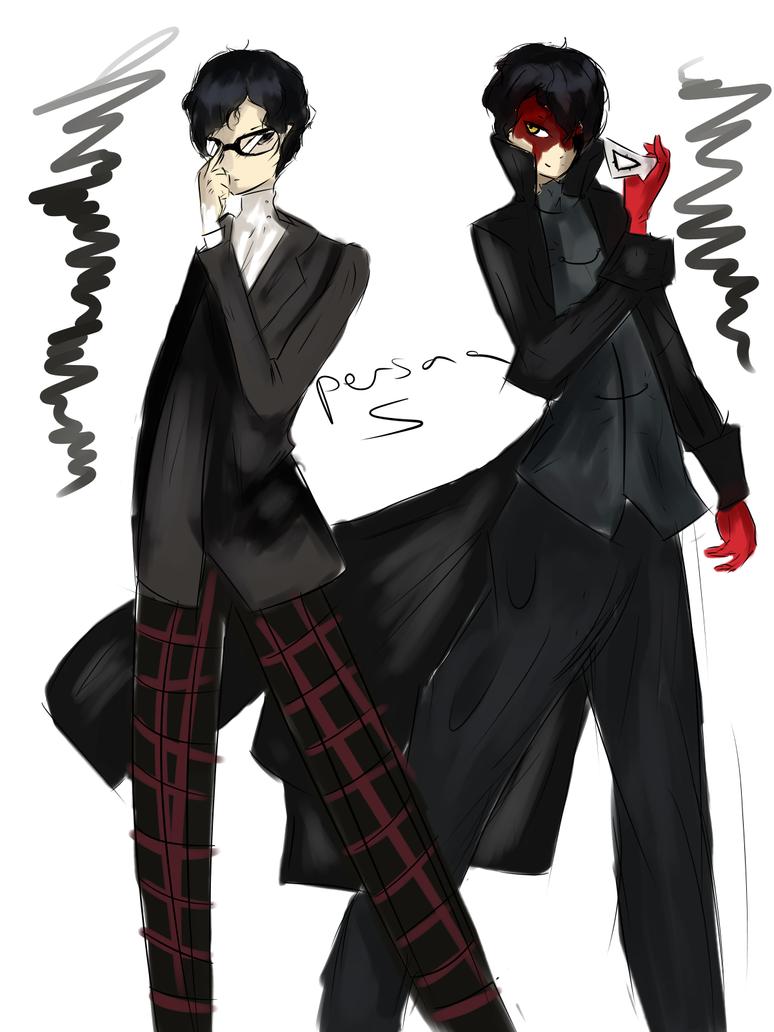 Persona 5 by ninjaswift2004
