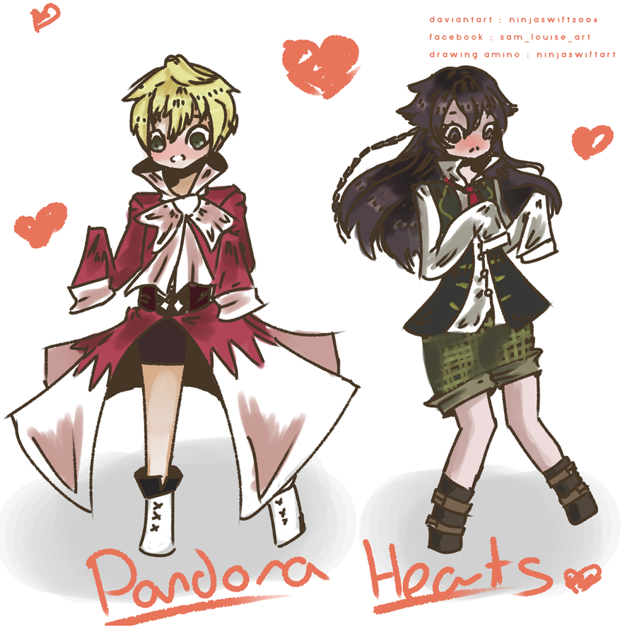 Pandora Hearts Outfit Swap Oz And Alice by ninjaswift2004