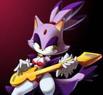 Blaze the cat +rockstar+