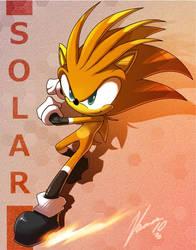 Solar the hedgehog by nancher
