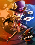 Rouge the bat and shadow