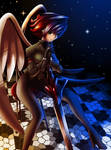Angel warrior +thinking+