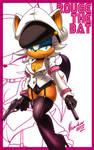 Rouge the bat +guns+ by nancher