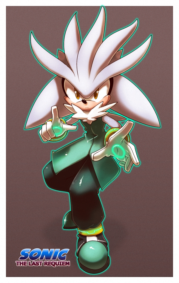 Silver the hedgehog +TLR+ by nancher