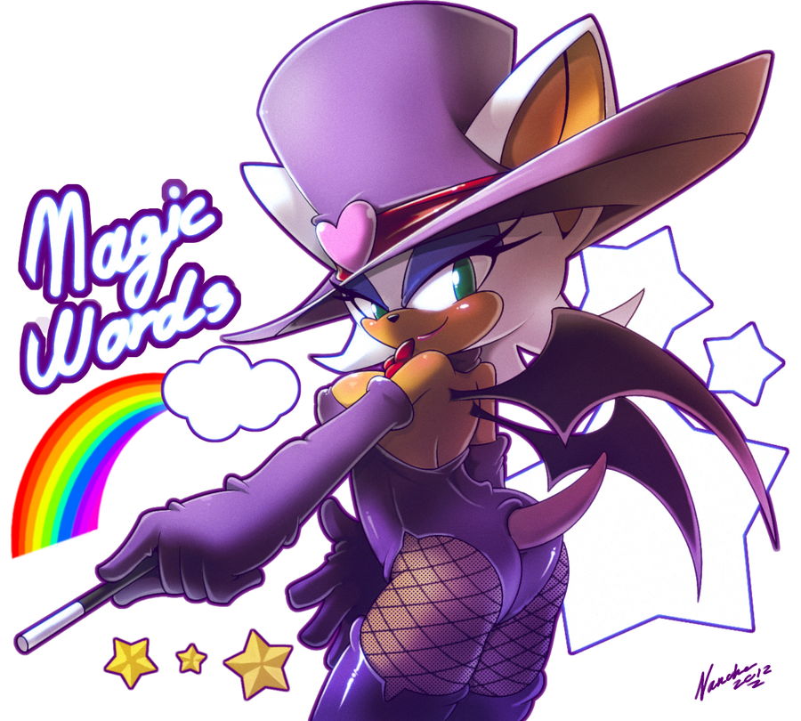 Rouge the magician by nancher