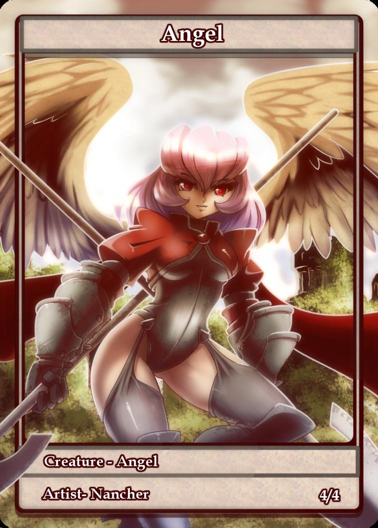 Angel +token Card+ by nancher