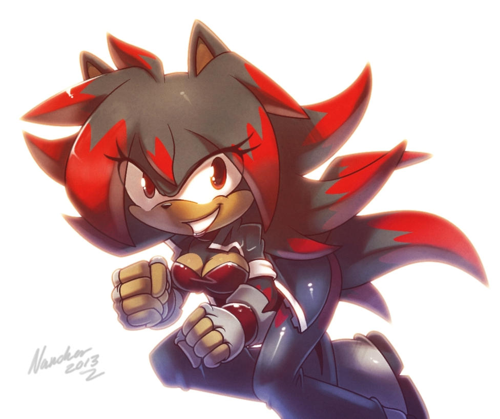 Shannohn the Hedgehog by nancher