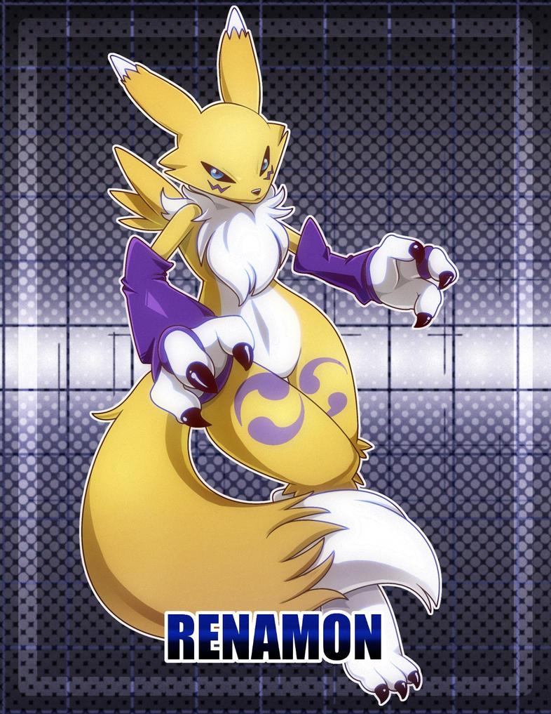 Renamon by nancher