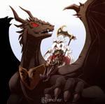 Karina and the dragon