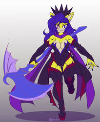 Dark Empress Lanaize [Commission: Flat color]