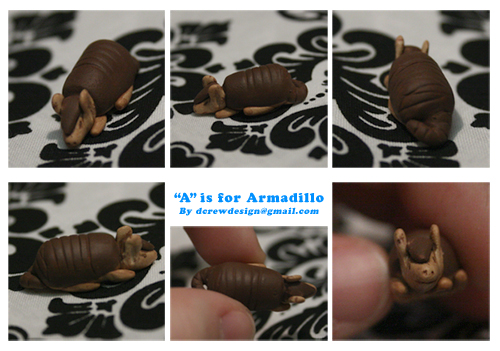 A is for Armadillo by Skyelark