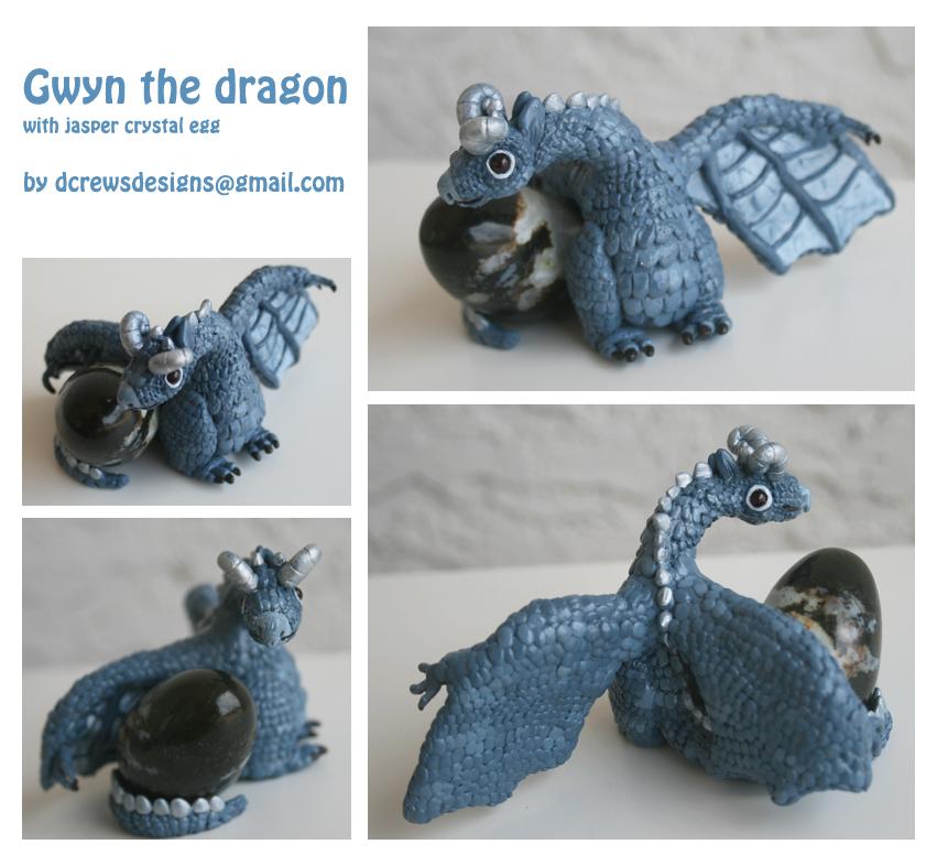 Gwyn the Dragon by Skyelark
