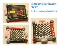 Homestuck Teaset tray