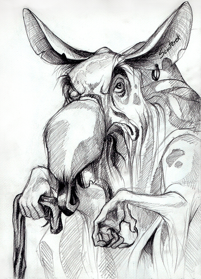 Old Rat Hermit by Scooterek