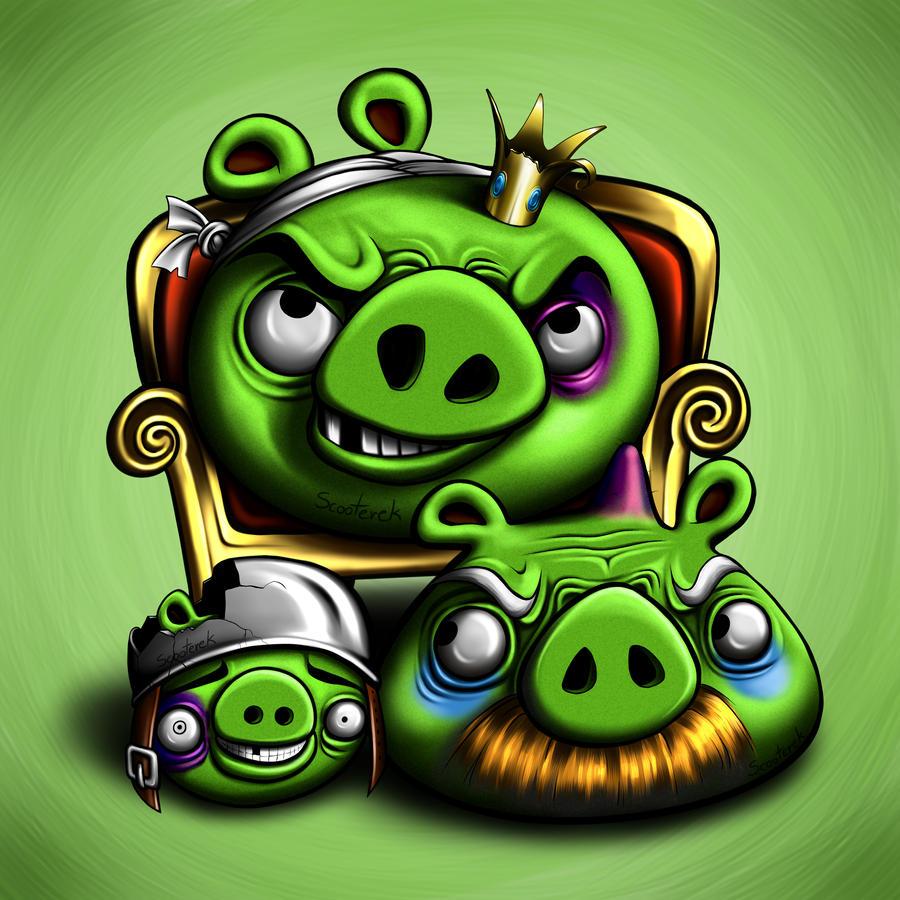 Angry Birds by Scooterek - ShockBlast