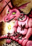Shrek Dragon - Commision