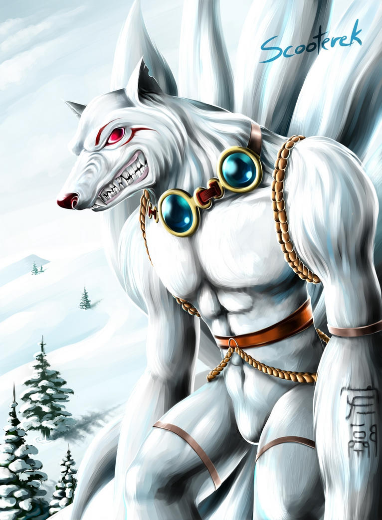 Nine Tails by Scooterek