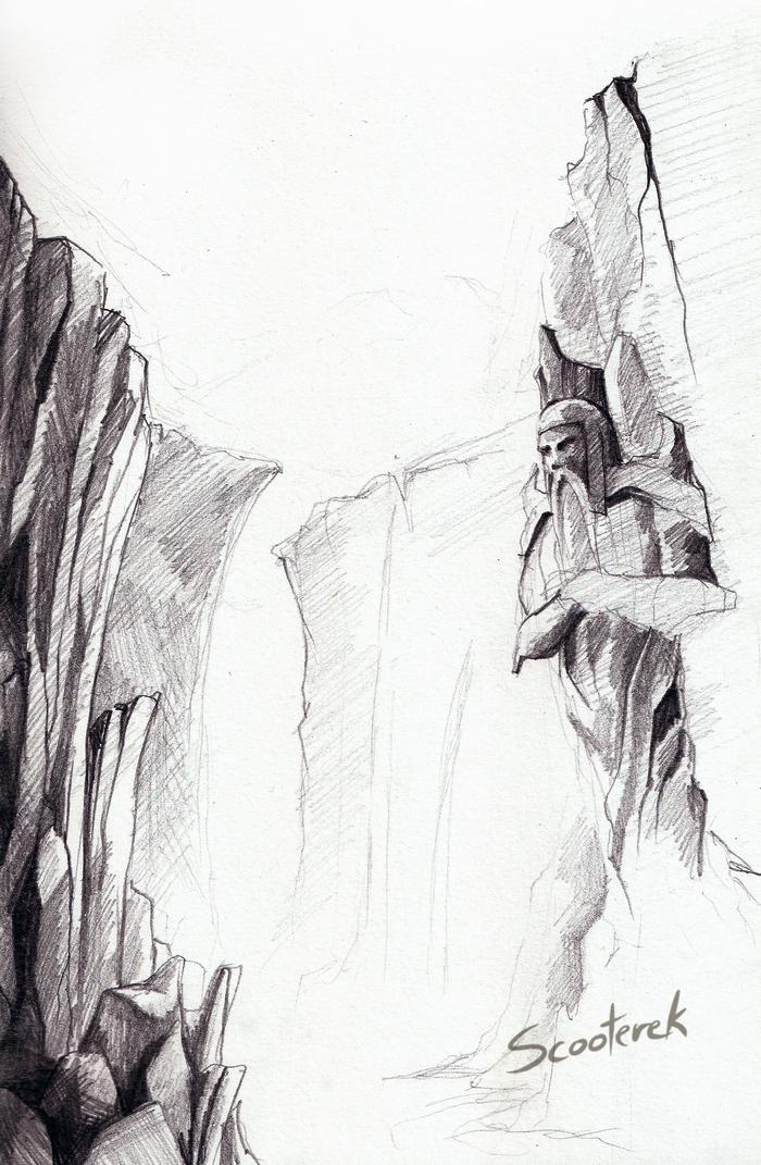 Statue by Scooterek