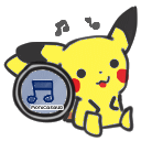 pikachu itunes dock icon by monicasaur