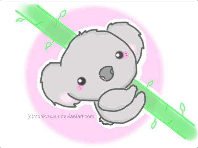 Koala By Monicasaur On Deviantart