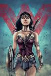 Wonder Woman - Batman v Superman  (color)