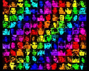 Rainbow Robbies by robertsmithislife
