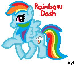 Rainbow Dash by weigel22