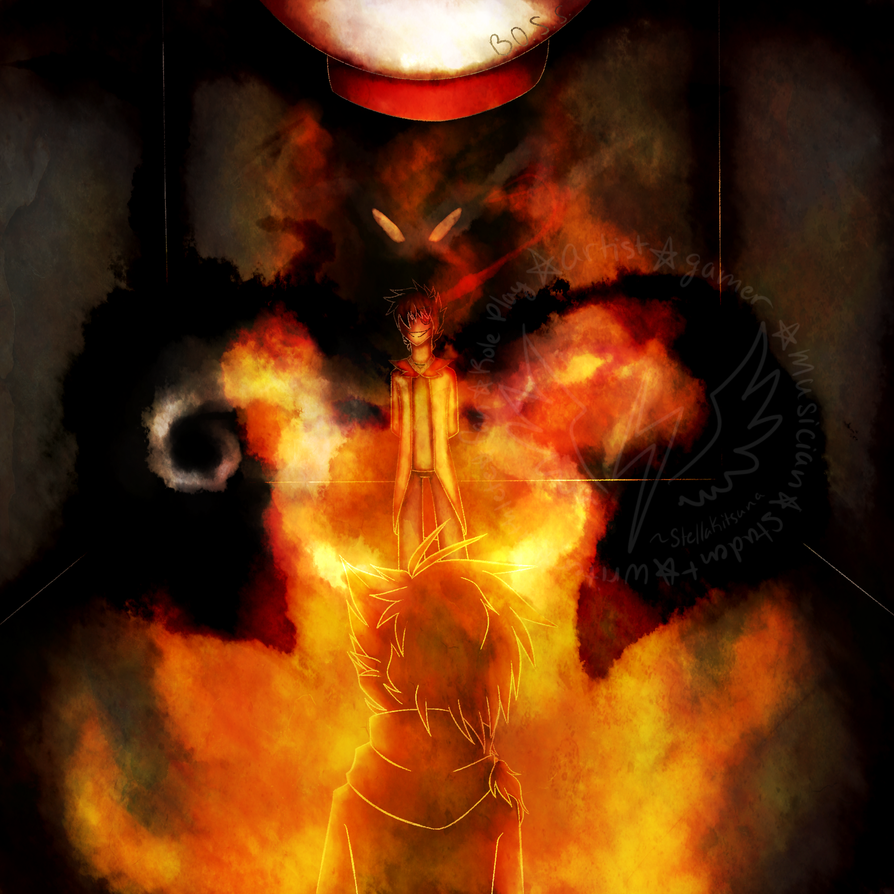 Fueling the Flames **COMM** by StellaKitsuna