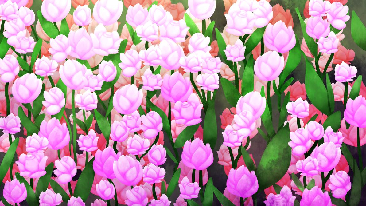Pretty rose background by StellaKitsuna