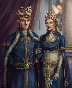 King Link and Queen Zelda