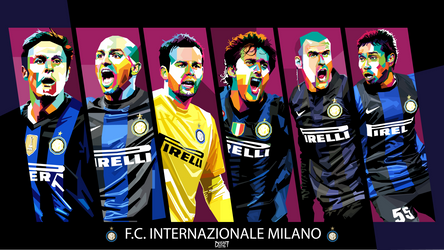 INTERNAZIONALE MILANO in WPAP by dhe-art