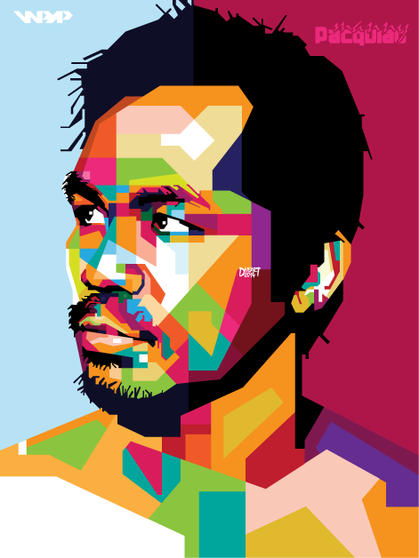Manny Pacquiao in WPAP by dhe-art