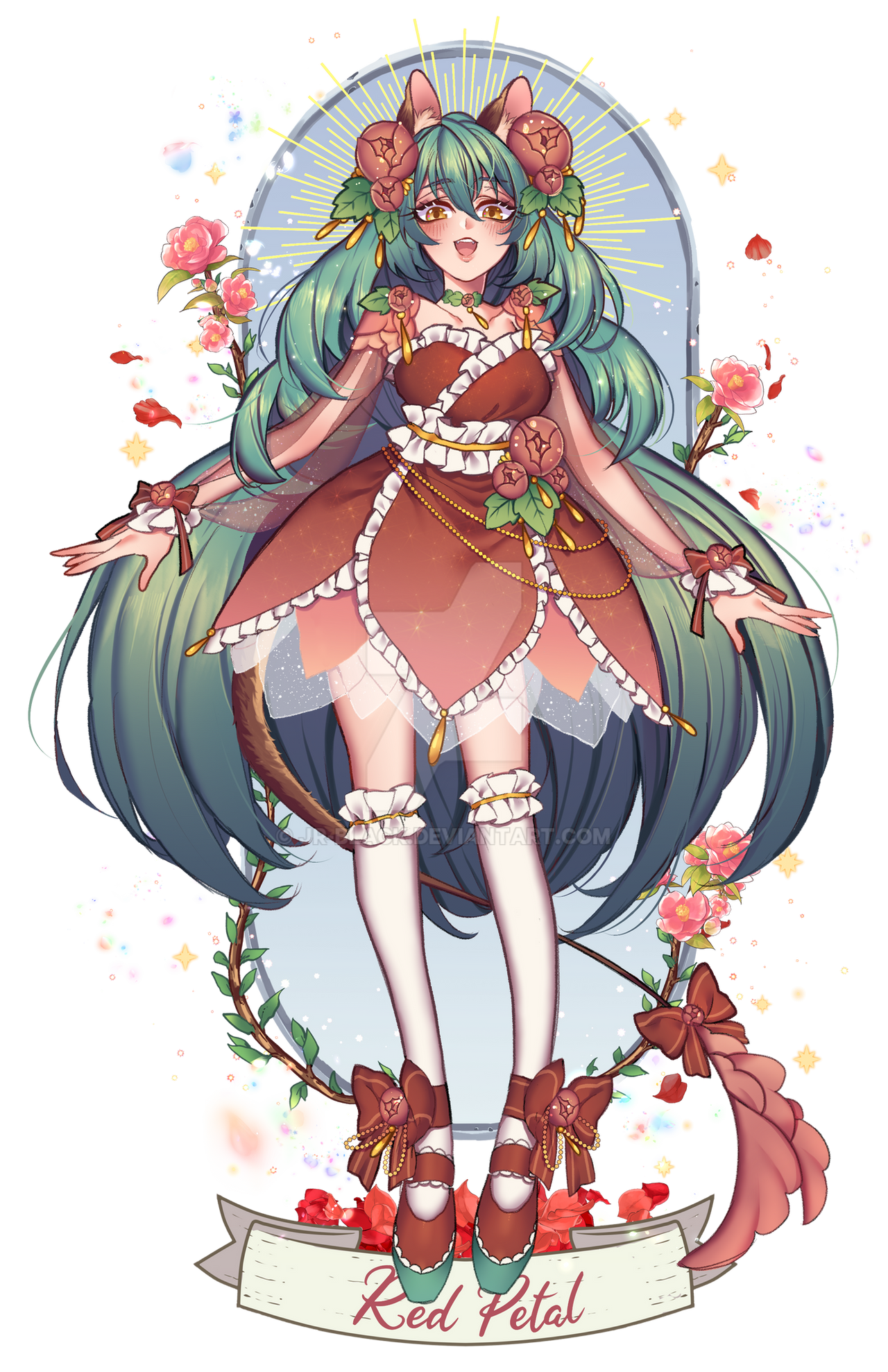 ADOPT / RED PETAL / | CLOSED|