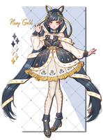 ADOPT / Navy Gold / |OPEN| by JR-BLACK