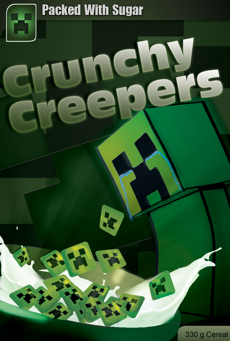 Crunchy Creepers Cereal by Densle