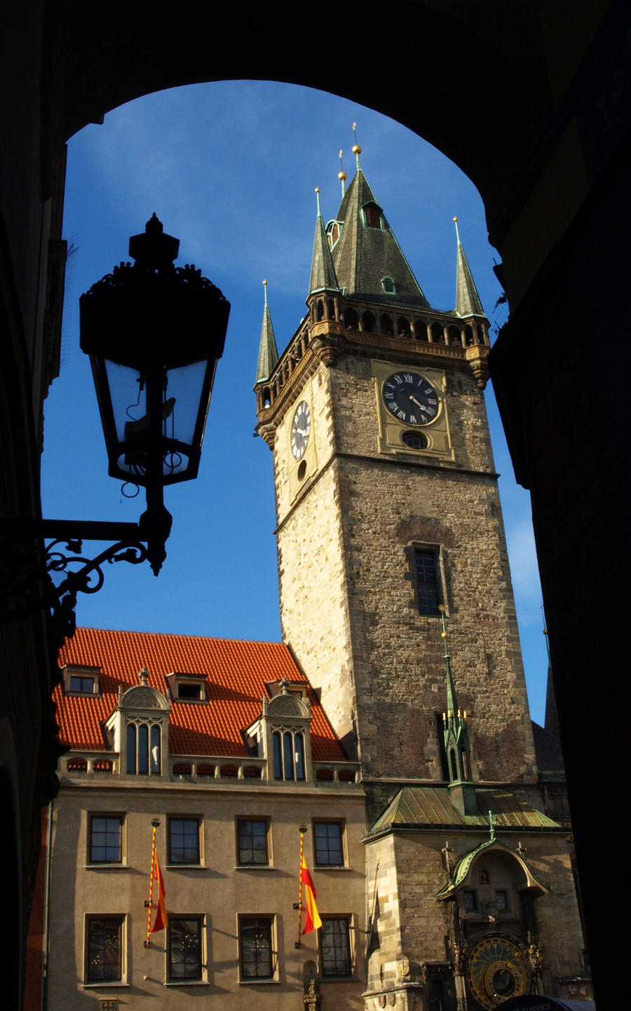 Old Town Hall Tower and Astronomical Clock01 by abelamario